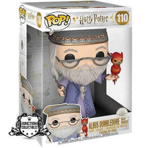 Funko Pop! Harry Potter Dumbledore and Fawkes 10-inch Vinyl Figure