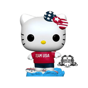 Funko Pop! Hello Kitty Team USA Surfing Vinyl Figure