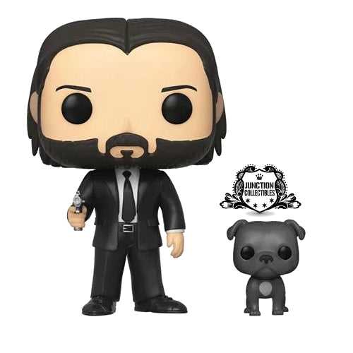 Funko Pop! John Wick with Dog Vinyl Figure