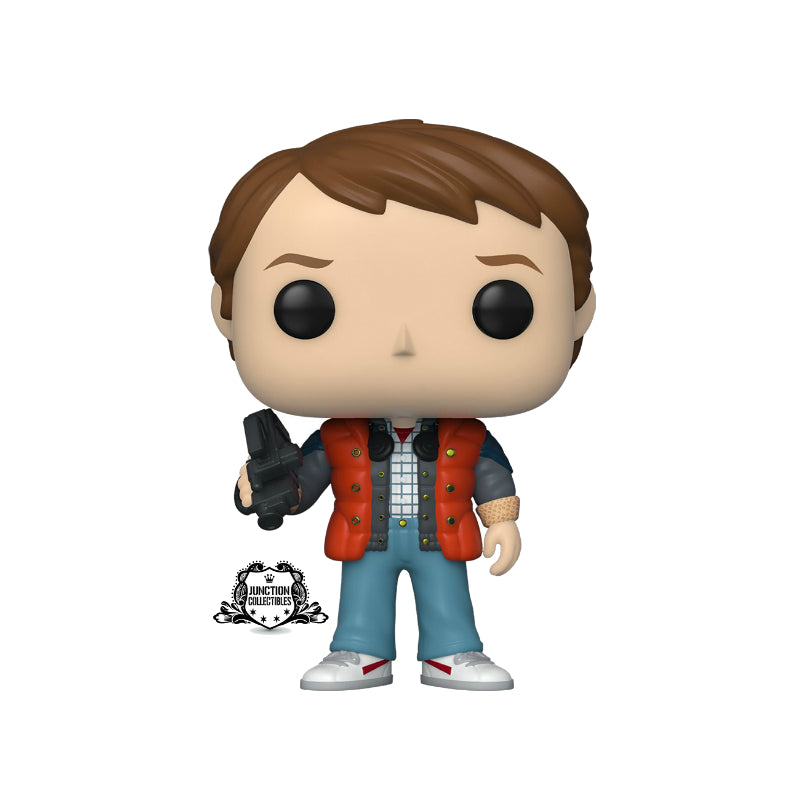 Funko Pop! Back To The Future Marty McFly In Puffy Vest Vinyl Figure