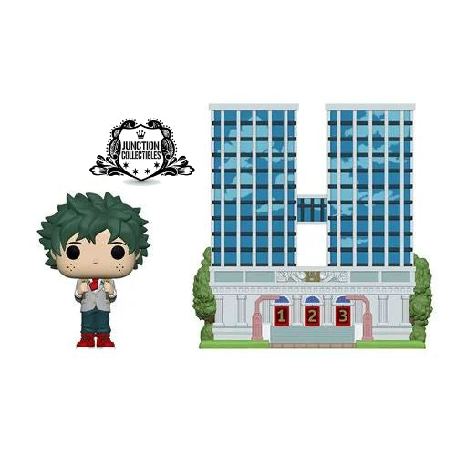 Funko Pop! My Hero Academia U.A. High School with Deku in Uniform Vinyl Town