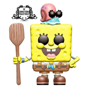 Funko Pop! Spongebob Movie Spongebob Squarepants (Camping Gear) Vinyl Figure