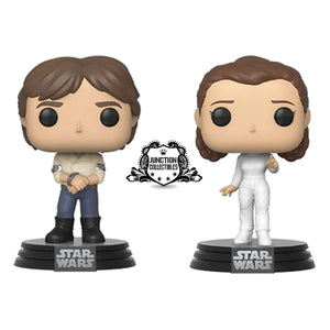 Funko Pop! Star Wars Han & Leia 2-Pack Vinyl Figures