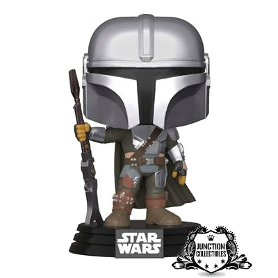 Funko Pop! The Mandalorian #345 Mandalorian Vinyl Figure