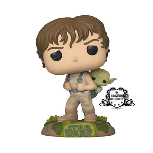 Funko Pop! Star Wars Training Luke With Yoda Vinyl Figure