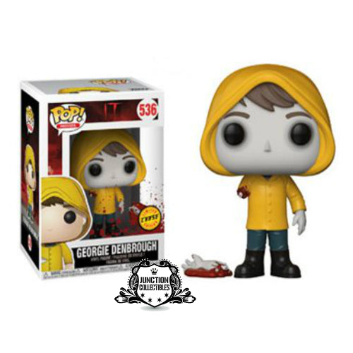 Funko Pop! It Chapter 1 Georgie with Boat (Chase Edition) Vinyl Figure