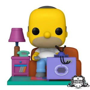 Funko Pop! The Simpsons Homer Watching TV Deluxe Vinyl Figure