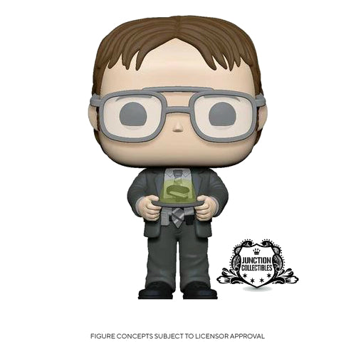 Funko Pop! The Office Dwight with Gelatin Stapler Vinyl Figure