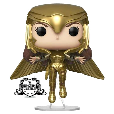 Funko Pop! Wonder Woman 1984 Gold Flying Vinyl Figure
