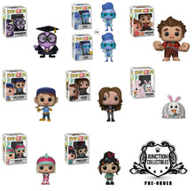 Funko Pop! Wreck-It Ralph 2 Complete Set of 8 Vinyl Figures