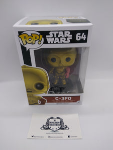 Funko Pop! Star Wars: The Force Awakens #64 C-3PO Vinyl Figure