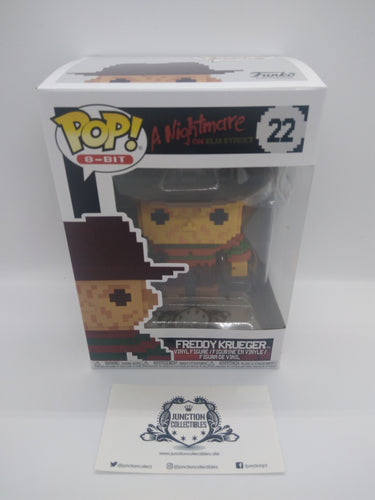 Funko Pop! 8-Bit Horror #22 - Freddy Kreuger Vinyl Figure