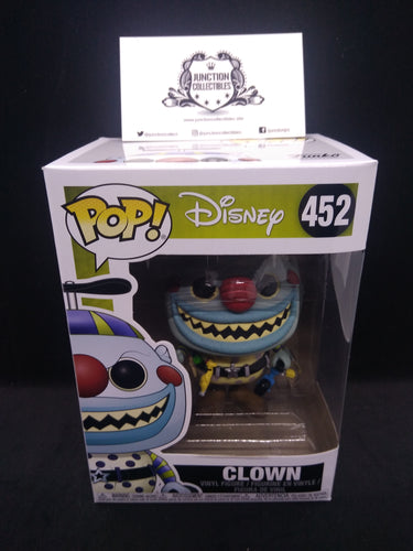 Funko Pop! Nightmare Before Christmas #452 Christmas Clown Vinyl Figure