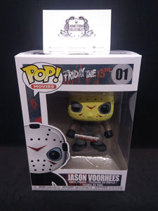 Funko Pop! Movies: Friday The 13th #01 Jason Voorhees Vinyl Figure