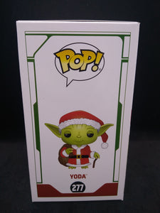 Funko Pop! Holiday Star Wars #277 Yoda Santa Vinyl Figure