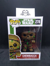 Funko Pop! Holiday Star Wars #278 Chewbacca with Lights Vinyl Figure