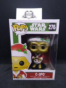 Funko Pop! Holiday Star Wars #276 C-3PO as Santa Vinyl Figure