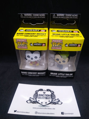 Funko Pocket Pop! Mickey's 90th Key Chain Set