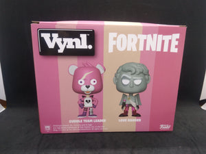 Funko VYNL. Fortnite Cuddle Leader & Love Ranger 2-Pack