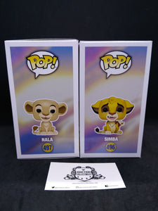 Funko Pop! Lion King Simba/Nala 2-Pack Bundle