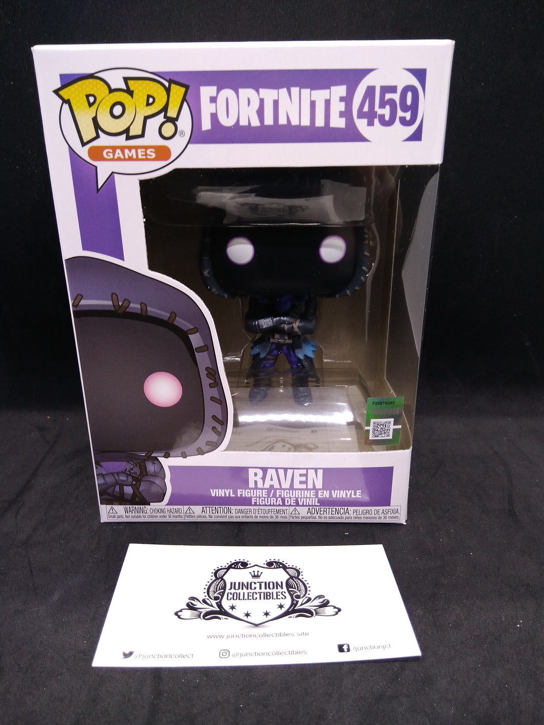 Funko Pop! Fortnite #459 Raven Vinyl Figure