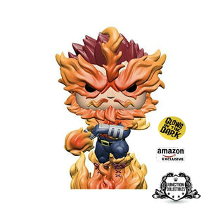 Funko Pop! My Hero Academia Endeavor (Glow In The Dark) (Amazon Exclusive) Vinyl Figure