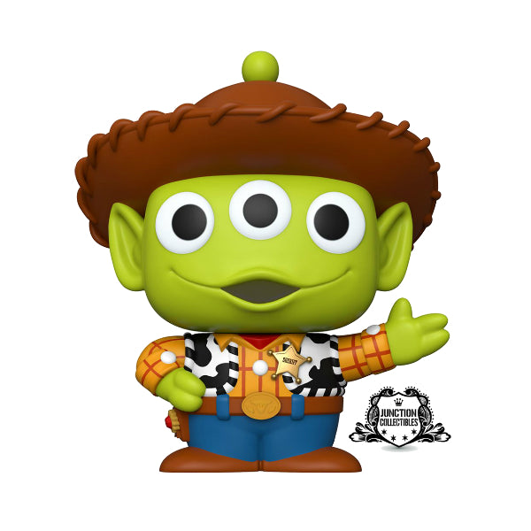Funko Pop! Pixar 25th Anniversary Alien as Woody 10-Inch Vinyl Figure
