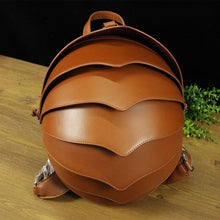Load image into Gallery viewer, Crossbody Beetle Bag Leather Backpack