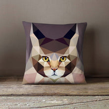 Load image into Gallery viewer, Personalized Geometric Main Kun Cat Pillowcase |