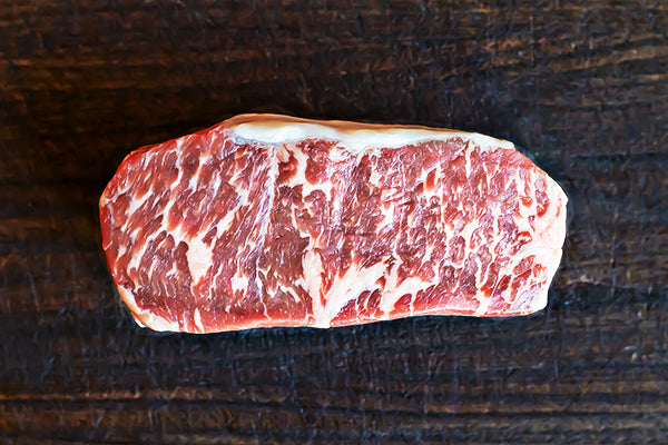 35 Day Custom-Aged USDA Prime New York Strip - 14oz