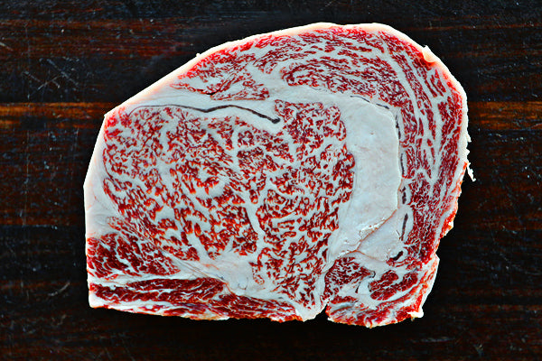 JAPANESE WAGYU BEEF RIB EYE - 8oz