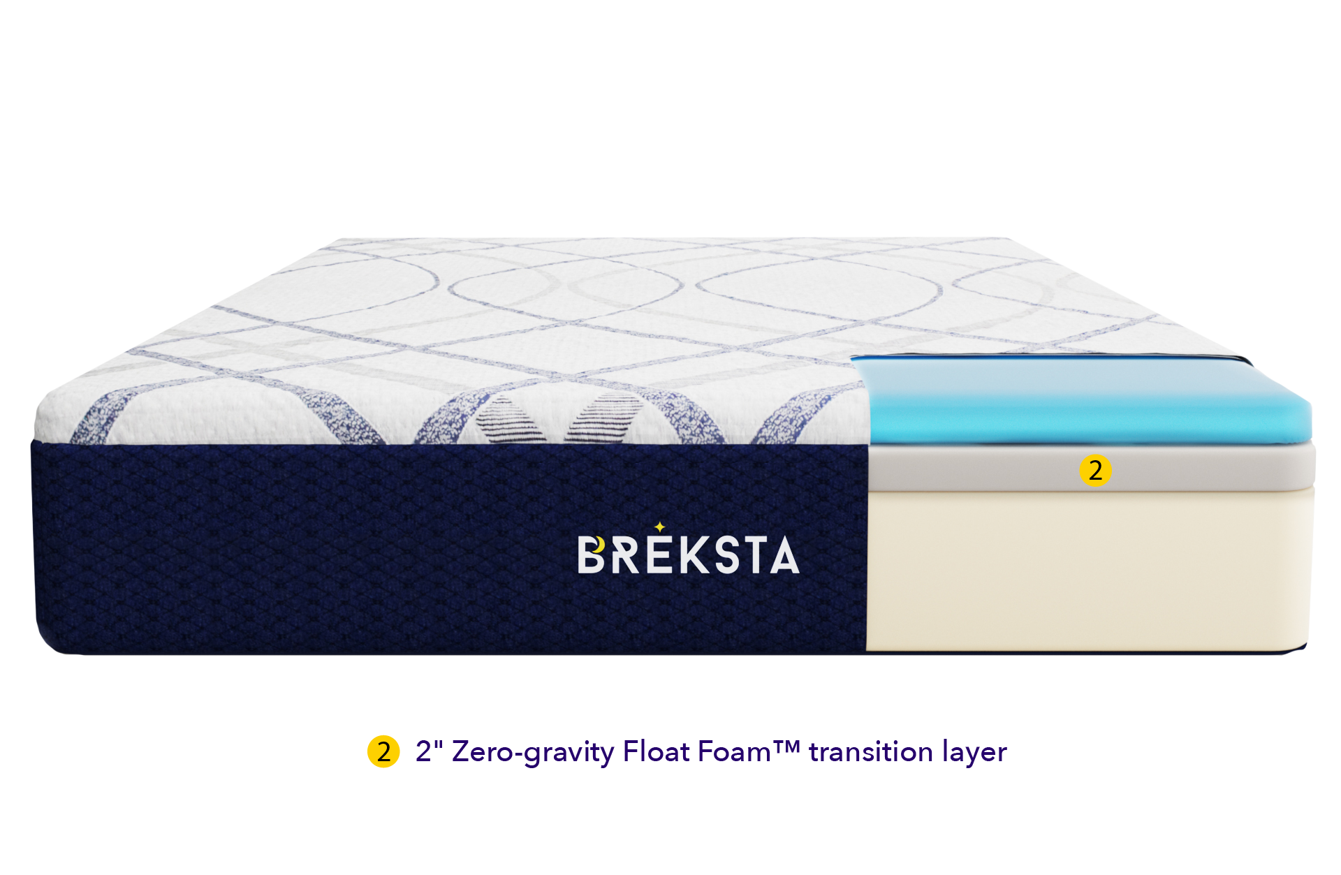 breksta cooling foam mattress