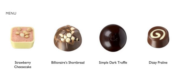 Hotel Chocolat Simply Thanks Message Box