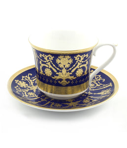Caverswall Shrewsbury Tea Cup And Saucer