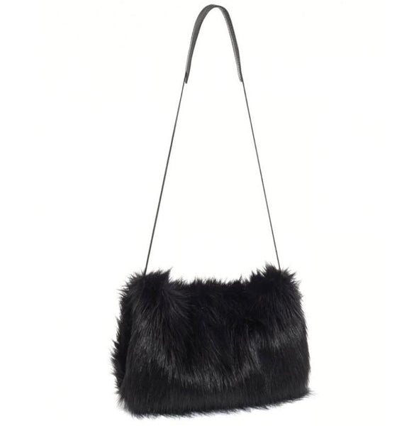 Christopher Raeburn Faux Fur Muff Bag