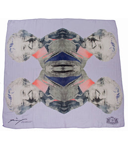 Go-British Queen Elizabeth II Silk Scarf