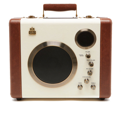 GPO Retro Manga Bluetooth Speaker and Guitar Amp
