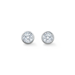 Mappin & Webb Gossamer Diamond Stud Earrings