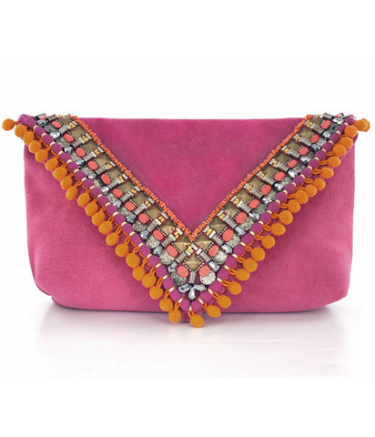 Matthew Williamson Large Envelop Clutch Bag