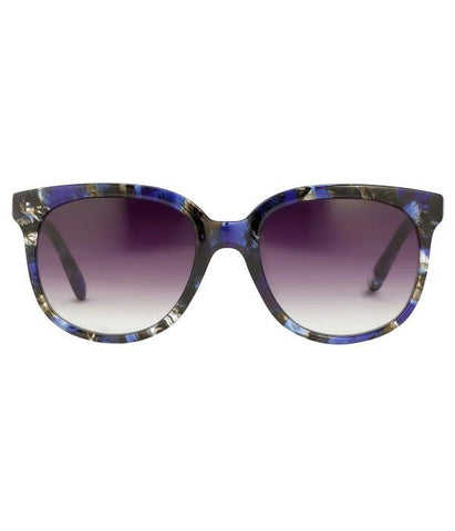 Linda Farrow Matthew Williamson Sunglasses Print Frame