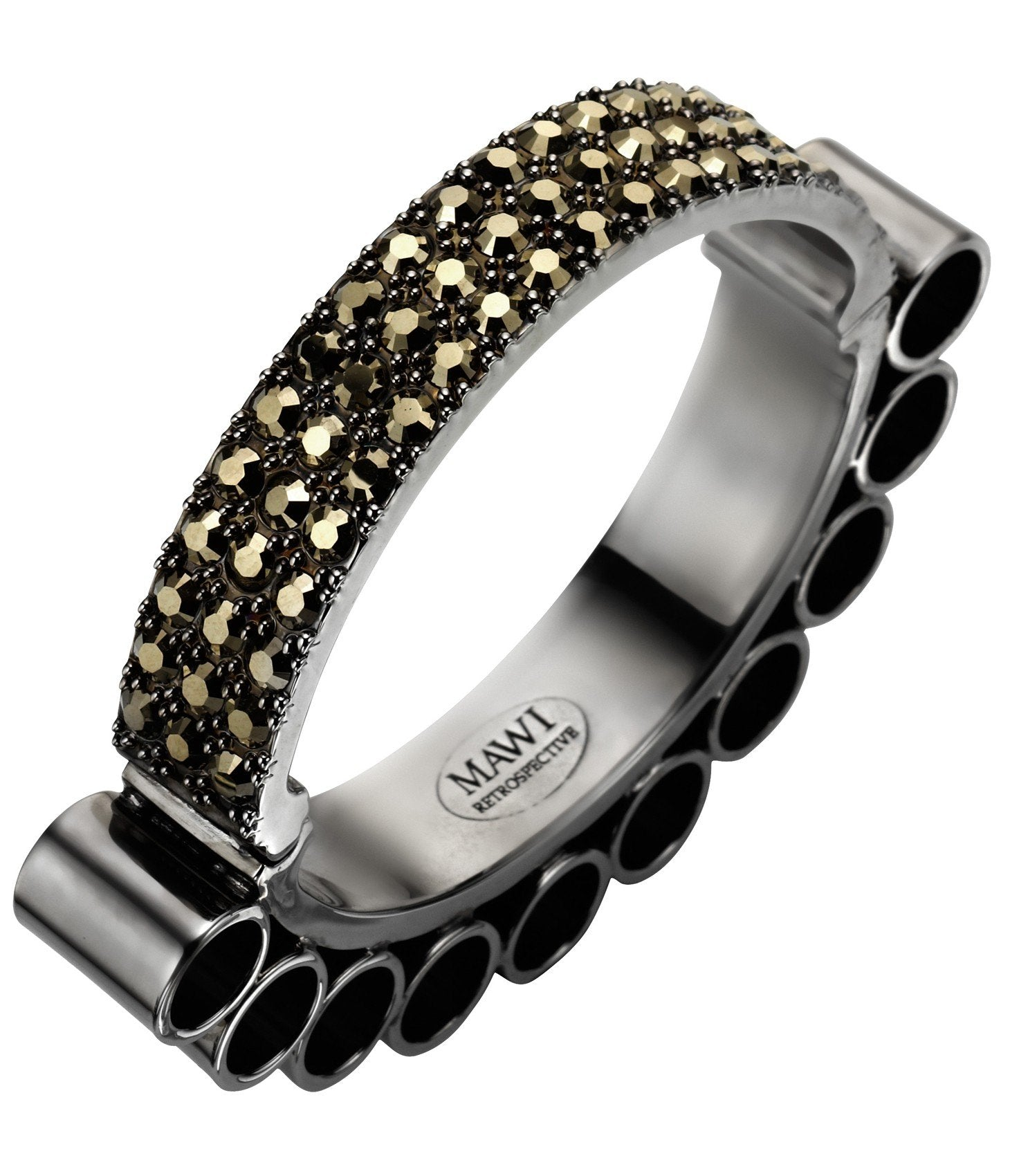 Mawi Tube and Pave Bangle