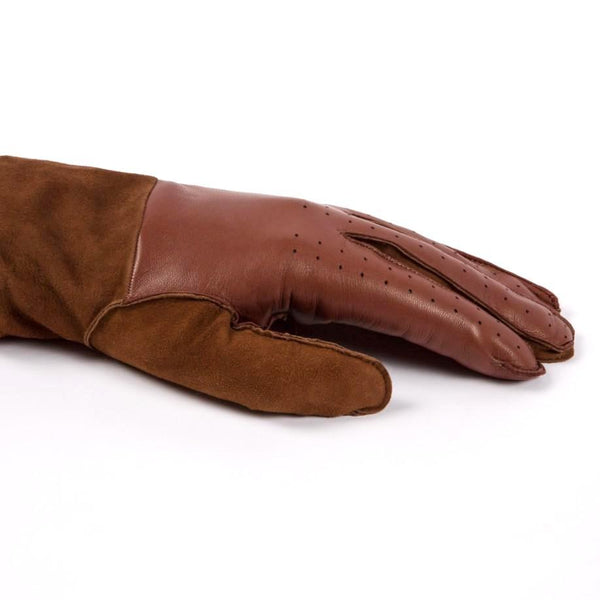 Paul Smith Leather Gloves With Cashmere and Sheepskin