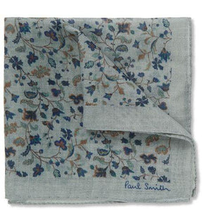 Paul Smith Wool And Silk Pocket Square