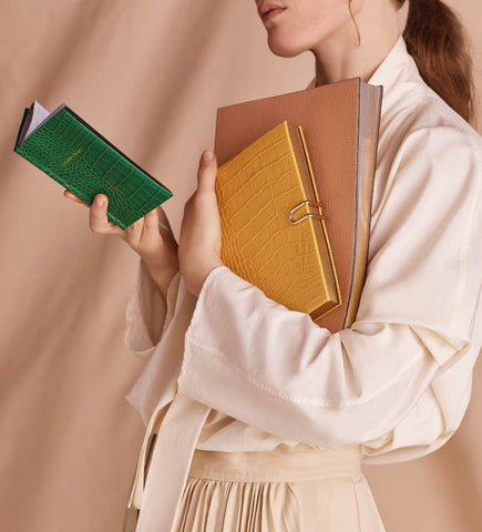 Smythson Leather Notebooks