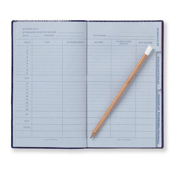 Smythson Golf Notes Panama Notebook