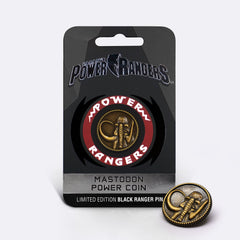 Mastodon <br> Power Coin Pin