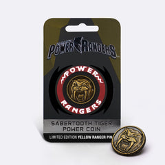 Sabertooth Tiger <br> Power Coin Pin