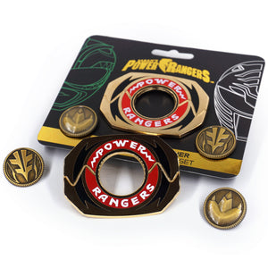 Legacy Power Morpher Pin Set: Green/White Edition