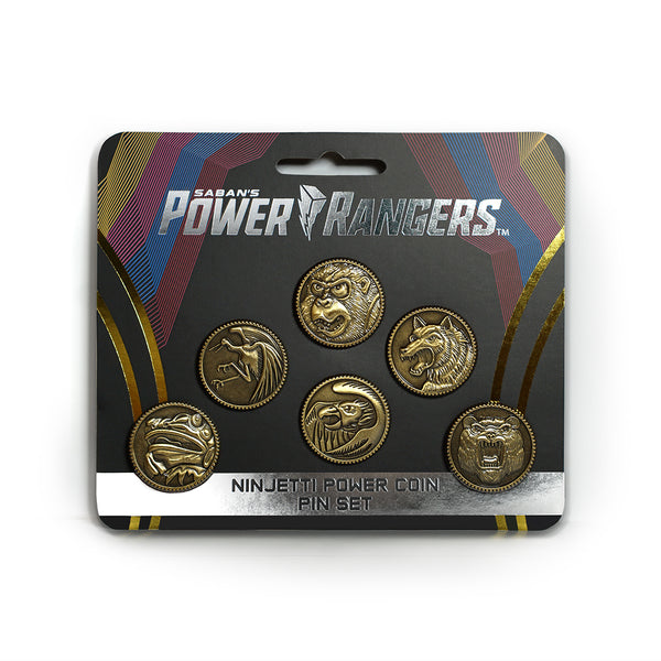 Ninjetti Power Coin Pin Set