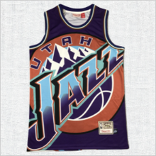 Load image into Gallery viewer, Utah Jazz Donovan Mitchell Jersey Purple #45